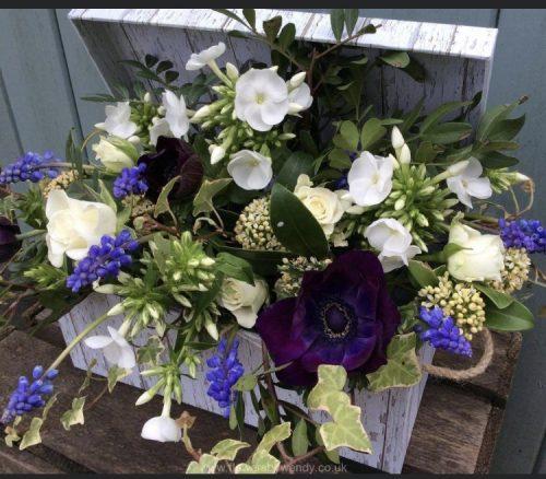 Hamper Flower Gift