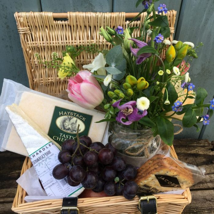 Stogumber Flower and CheeseHamper