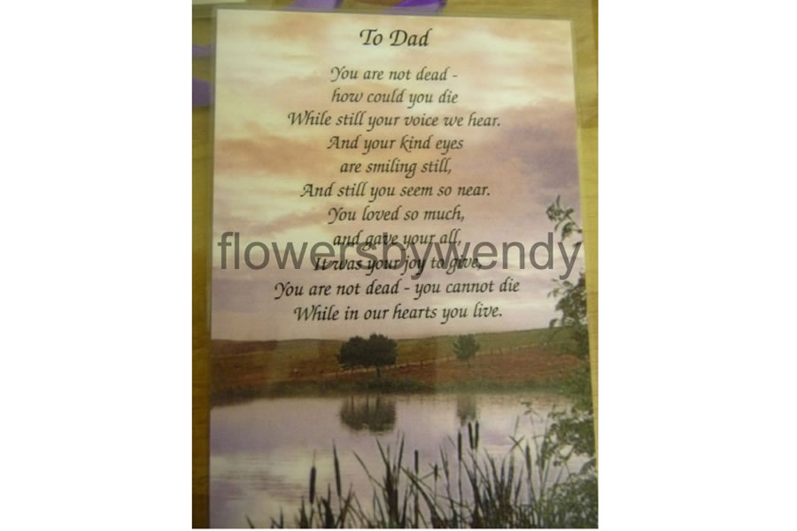 Dad Flowers