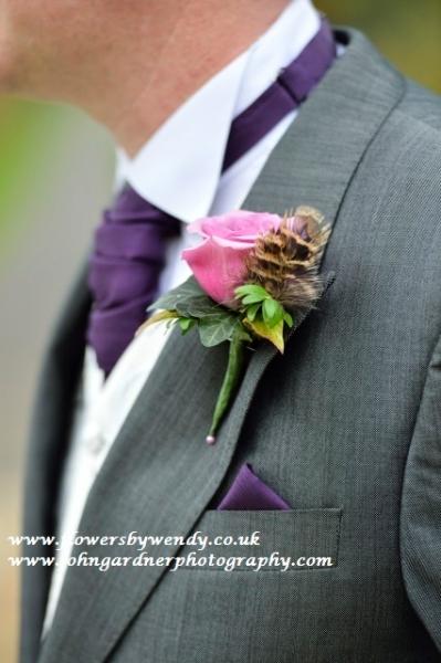 Brides wedding bouquets