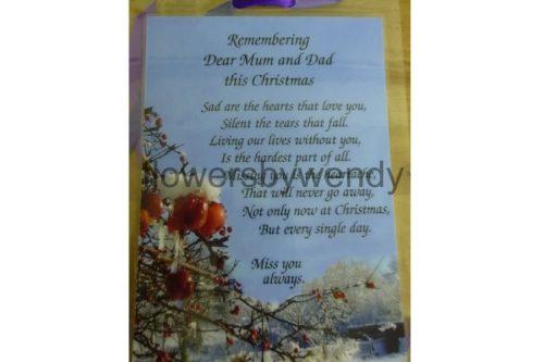 Remembering Mum And Dad At Christmas