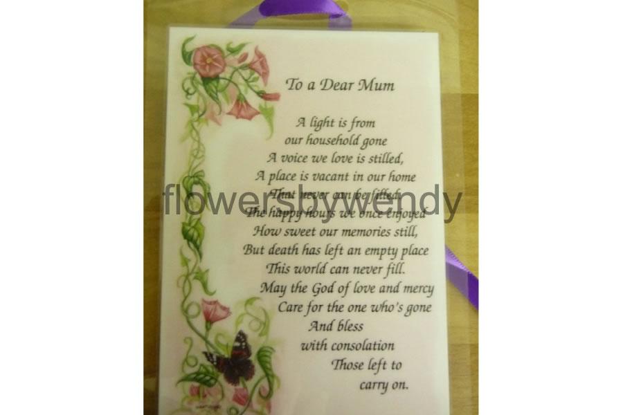 To A Dear Mum