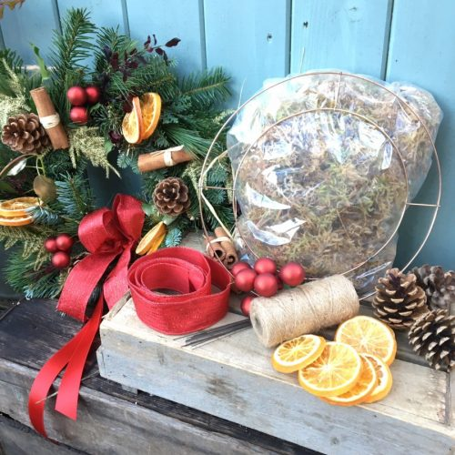 Making Your Own Wreath