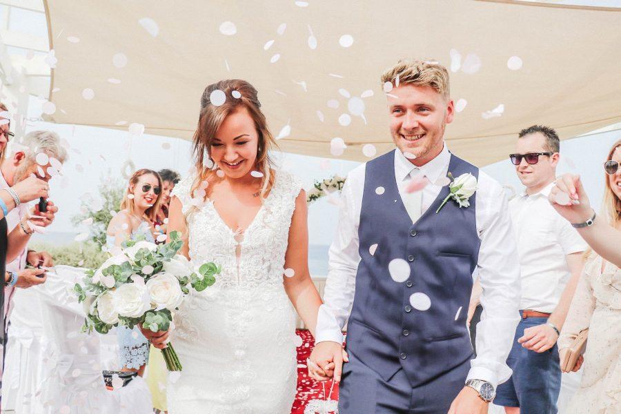silk wedding bouquets