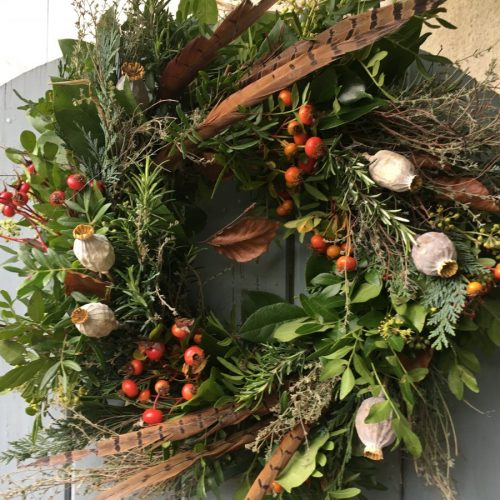 Natural Eco Friendly Wreath