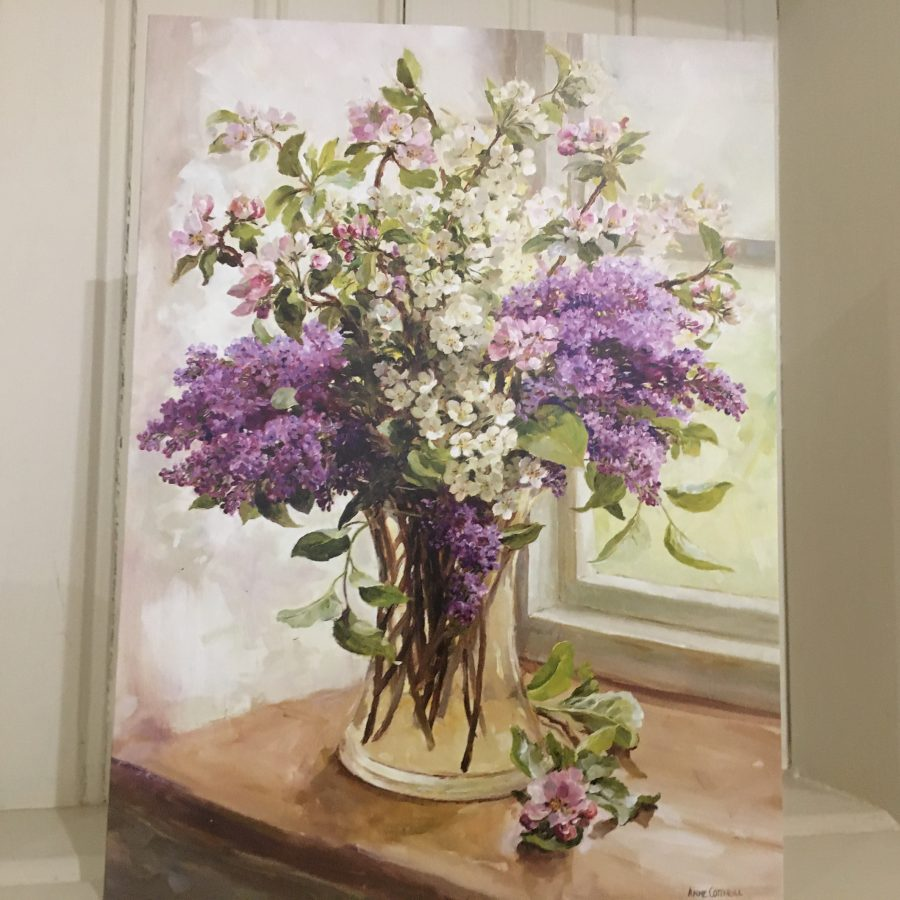 Anne Cotterill Lilac and Blossom