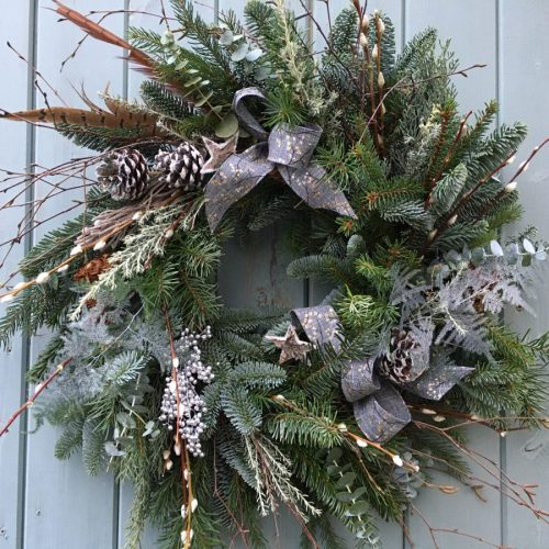 Starry Night Wreath
