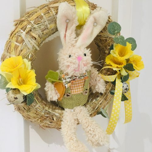 Easter Bunny Straw Ring